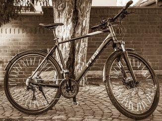 férfi trekking kerékpár