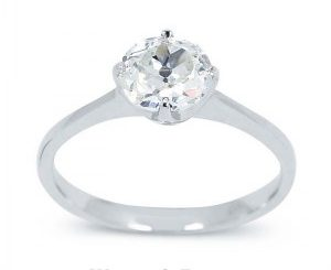 Gyémánt karikagyűrű