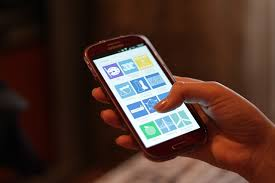 Érintőképernyős mobiltelefon