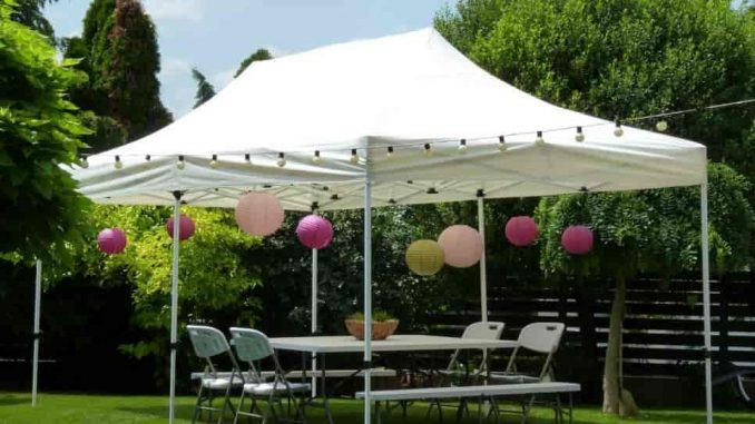 rendezvény pavilon sátor